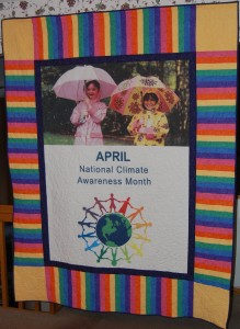 April National Climate Awareness Month Quilt