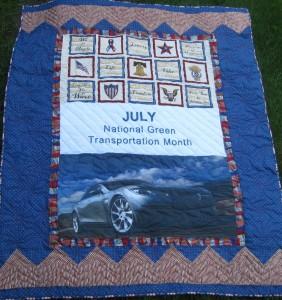 July National Green Transportation Month
