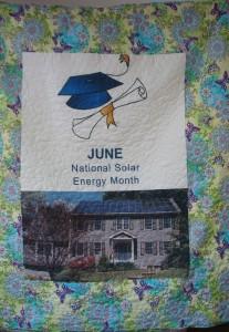 June National Solar Energy Month